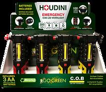 Houdini COB LED Flashlight