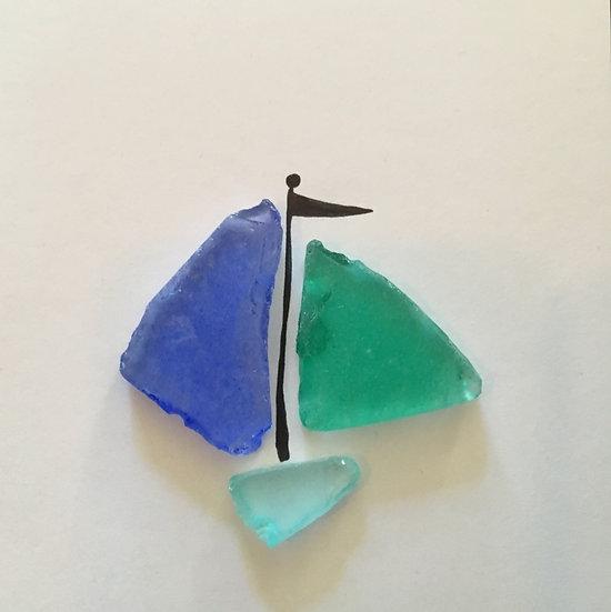 Shell & Glass Art