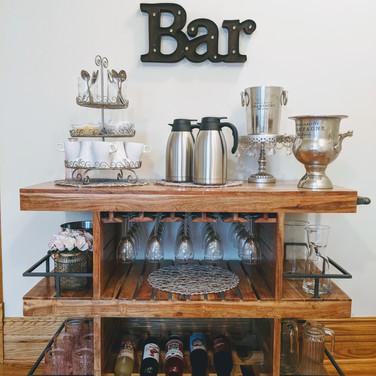 Beverage Bar in serving area