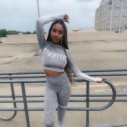 Gray Activewear Set