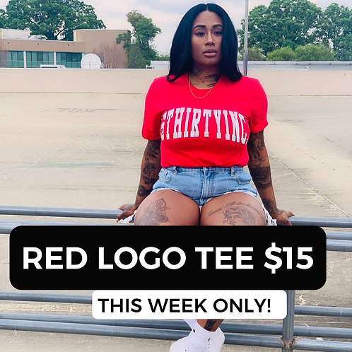 Red Logo Tee Deal