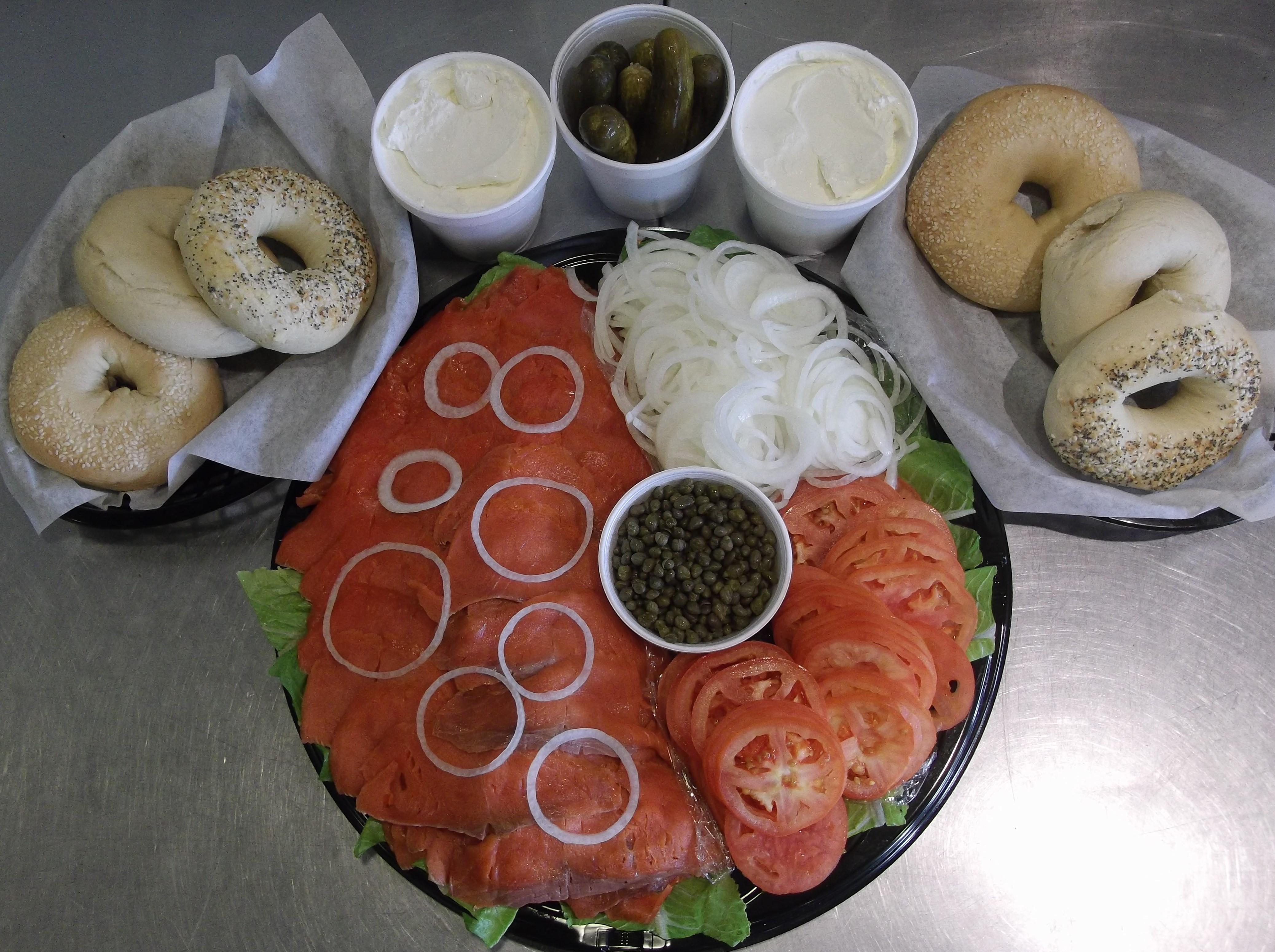 Salmon Lox Platter