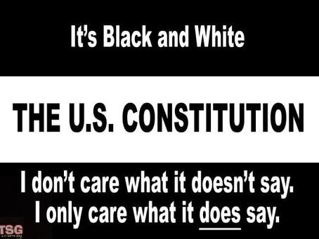 The Constitution. Under attack. Again.