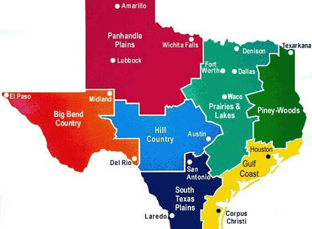 "Just where is the ""Hill Country"" region of Texas?"