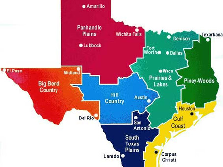 """Just where is the """"Hill Country"""" region of Texas?"""