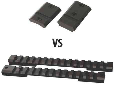 Picatinny vs. Weaver. A difference?