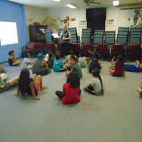 Children's camp class