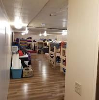 Pine Ridge mission bunk room