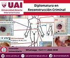 Diplomatura en Reconstrucción Criminal U