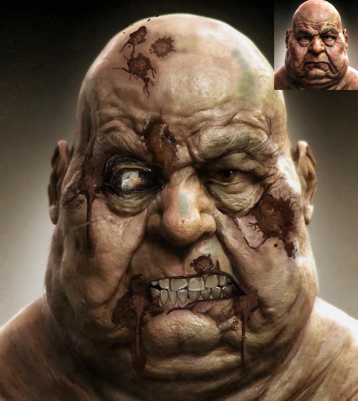Zombie Fat Man