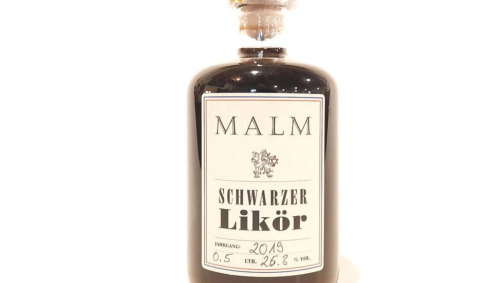 Schwarzer Likör, 200 ml, Bio-zertifiziert DE-ÖKO 037