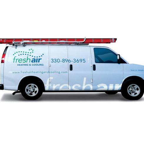 Fresh Air HVAC Van