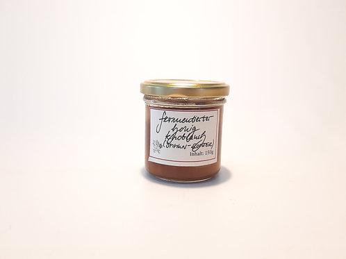 Honig-Knoblauch fermentiert