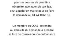 Info Mairie-CCAS :