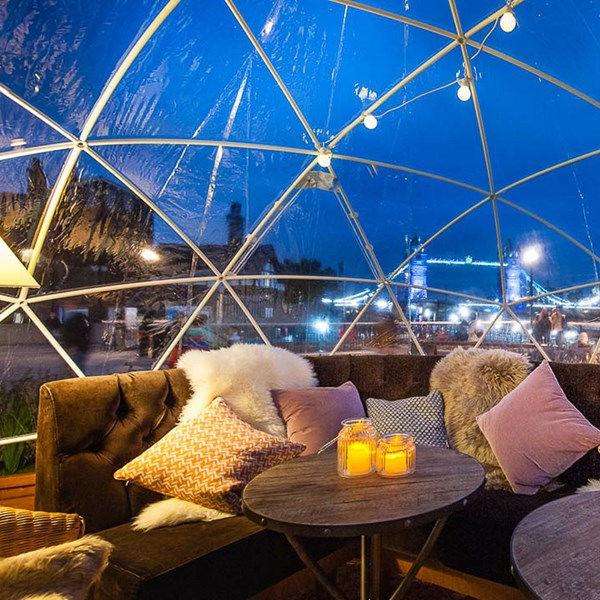 IGLOO LUXURY DINING & HOT TUB EXPERIENCE