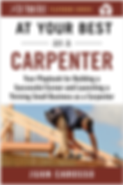 At Your Best as a Carpenter book cover