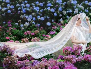 婚紗作品-繡球花-格甄