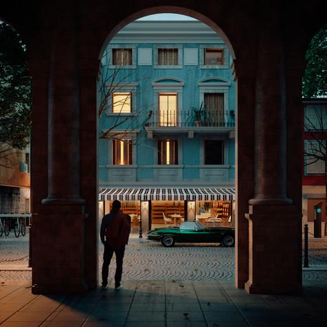Udine street