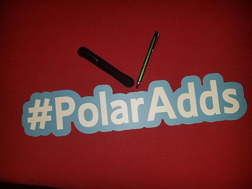 PolarAdds Pen w/ Velvet Pouch