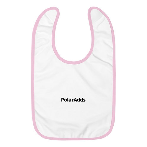 (COMING SOON) Embroidered Baby Bib