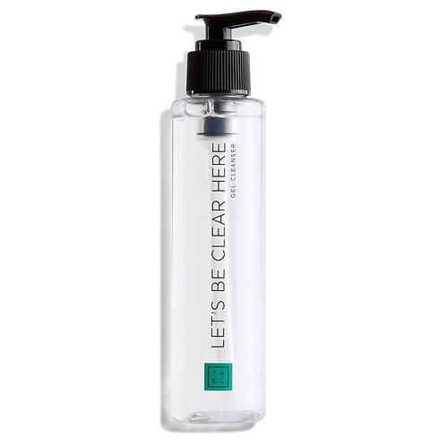 Let's Be Clear Here Gel Cleanser 5oz