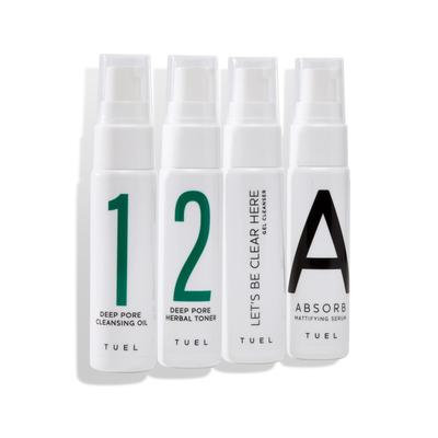 Detox Travel Pack with gel cleanser
