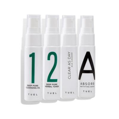 Detox Travel Pack with Milk Cleanser