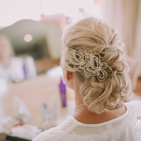 Bridal hair Wanaka