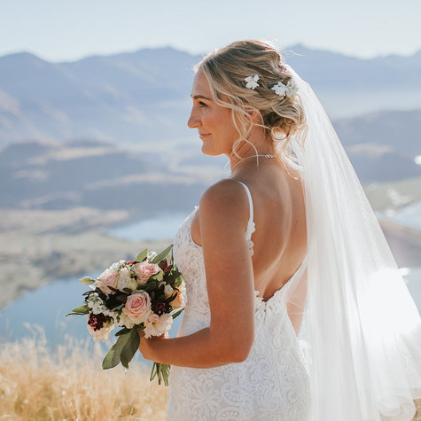 Wanaka wedding hairstylist