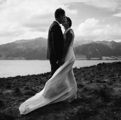Bridal hair Wanaka