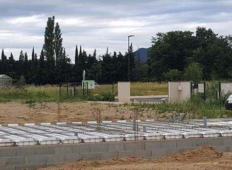Nouvelle construction à Pézilla la Rivière