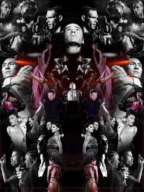 'Dancesport pt. IV' Framed Print