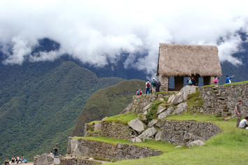 Hills Behind Machu Pichu