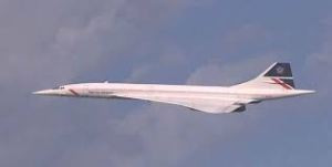 Concorde. Reality is that material progress in the last four decades has not been as good as it was a generation ago.