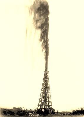 Oil well blowout / gusher — high ERoEI
