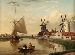 Dutch Windmills wind power