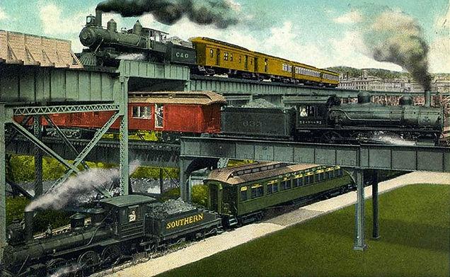 Three railroad tracks Richmond VA symbolize three approaches to climate change