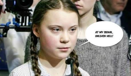 Greta Thunberg leads a youth movement
