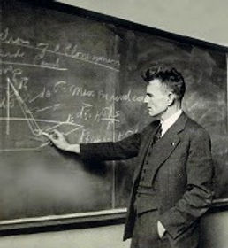 M. King Hubbert developed the Hubbert curve that forecast the decline in oil production, first in the United States, then world wide.