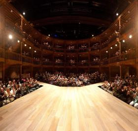 Royal Shakespeare company and BP and blaming the oil companies