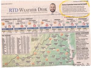 Record Temperatures