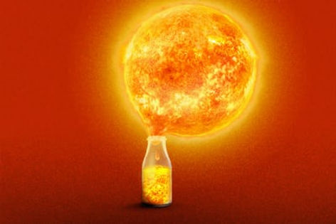 Nuclear fusion as an example of an alternative energy sources for climate change
