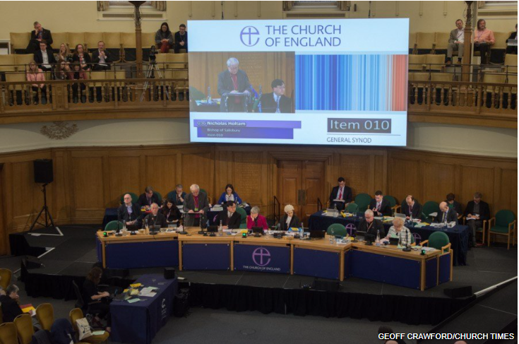 Church of England sets ambitious Net Zero climate goals at the 2020 Synod.