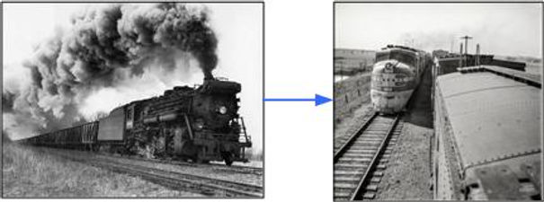 The transition from steam to diesel in the United States took 30 years. We are talking about totally restructuring our economy is the same amount of time.