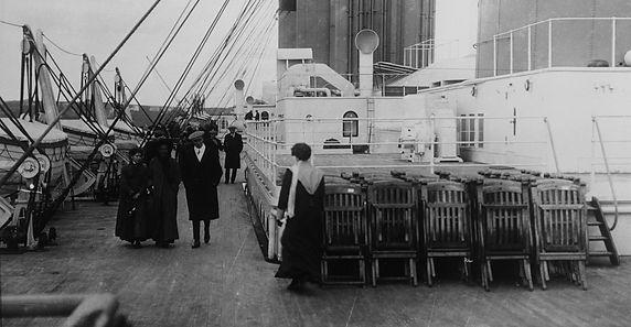 Titanic Deckchairs