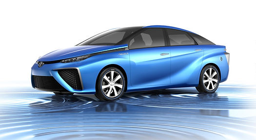 Hydrogen powered fuel cell electric vehicle — Toyota