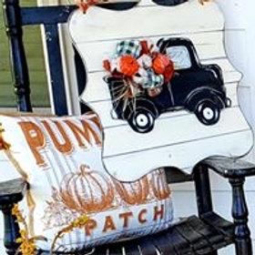3D Vintage Inspired Truck Door Hanger/Sign