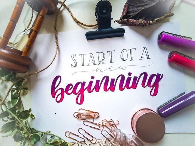 Start of a new beginning 🎉  Meine Homep