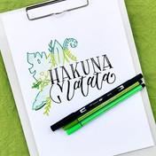 """""""Hakuna Matata"""" - ein Zitat aus einem me"""
