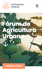 Blogs e Fóruns website templates – Fórum de Agricultura Urbana